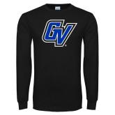 Black Long Sleeve T Shirt-GV