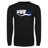 Black Long Sleeve T Shirt-Irwin Club