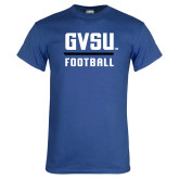 Royal T Shirt-GVSU Football