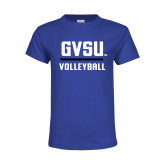 Youth Royal T Shirt-GVSU Volleyball