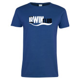Ladies Royal T Shirt-Irwin Club