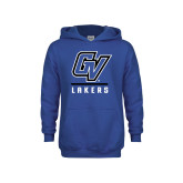 Youth Royal Fleece Hoodie-GV Lakers Stacked