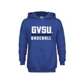 Youth Royal Fleece Hoodie-GVSU Baseball