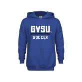 Youth Royal Fleece Hoodie-GVSU Soccer