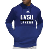 Adidas Royal Team Issue Hoodie-GV Lakers Stacked