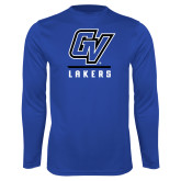 Performance Royal Longsleeve Shirt-GV Lakers Stacked