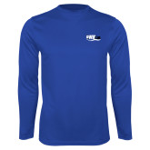 Performance Royal Longsleeve Shirt-Irwin Club