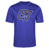 Performance Royal Heather Contender Tee-GV