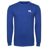 Royal Long Sleeve T Shirt-Irwin Club