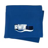 Royal Sweatshirt Blanket-Irwin Club