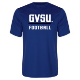Performance Royal Tee-GVSU Football