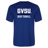 Performance Royal Tee-GVSU Softball