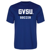 Performance Royal Tee-GVSU Soccer