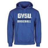 Royal Fleece Hoodie-GVSU Baseball