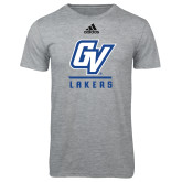 Adidas Sport Grey Logo T Shirt-GV Lakers Stacked