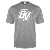 Performance Grey Heather Contender Tee-GV