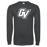 Charcoal Long Sleeve T Shirt-GV