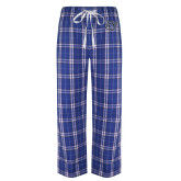 Royal/White Flannel Pajama Pant-GV