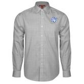 Red House Grey Plaid Long Sleeve Shirt-GV