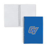 Clear 7 x 10 Spiral Journal Notebook-GV