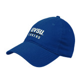 Royal Twill Unstructured Low Profile Hat-GVSU Lakers Stacked