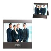 Brushed Gun Metal 4 x 6 Photo Frame-GVSU Engraved