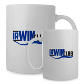Full Color White Mug 15oz-Irwin Club