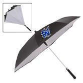 48 Inch Auto Open Black/White Inversion Umbrella-GV