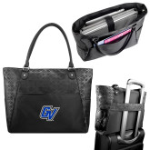 Sophia Checkpoint Friendly Black Compu Tote-GV
