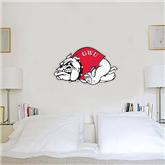 1 ft x 2 ft Fan WallSkinz-Bulldog