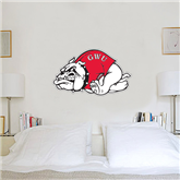 2 ft x 3 ft Fan WallSkinz-Bulldog