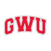 Medium Decal-Arched GWU, 8 in W