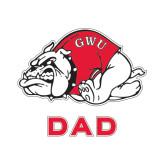 Dad Decal-Bulldog, 6 in W