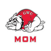Mom Decal-Bulldog, 6 in W