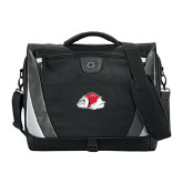 Slope Black/Grey Compu Messenger Bag-Bulldog