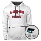Contemporary Sofspun White Hoodie-Arched Gardner-Webb University