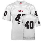 Replica White Adult Football Jersey-#40