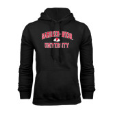 Black Fleece Hoodie-Arched Gardner-Webb University