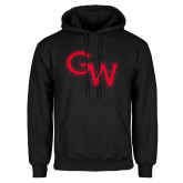 Black Fleece Hoodie-GW Primary Logo
