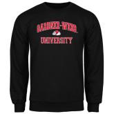 Black Fleece Crew-Arched Gardner-Webb University