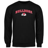 Black Fleece Crew-Arched Bulldogs