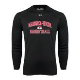 Under Armour Black Long Sleeve Tech Tee-Basketball