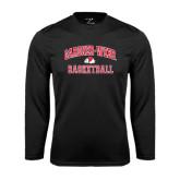 Syntrel Performance Black Longsleeve Shirt-Basketball