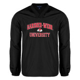 V Neck Black Raglan Windshirt-Arched Gardner-Webb University