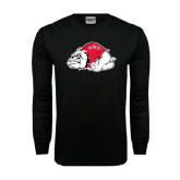 Black Long Sleeve TShirt-Bulldog