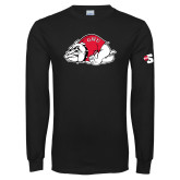 Black Long Sleeve T Shirt-Bulldog