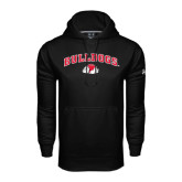 Under Armour Black Performance Sweats Team Hoodie-Arched Bulldogs