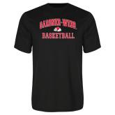 Syntrel Performance Black Tee-Basketball