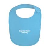 Light Blue Baby Bib-Gardner-Webb University