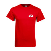 Red T Shirt-Bulldog